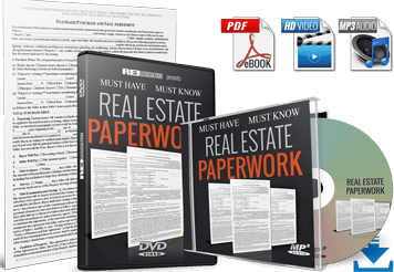 Comprehensive Training On Real Estate Paperwork and Processes for Buying Selling Investment Property! DOWNLOAD INVESTOR-FRIENDLY FORMS!