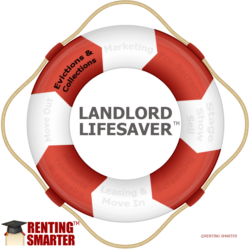 Trademarked Renting Smarter Cycle Landlord Lifesaver from Renting Smarter™