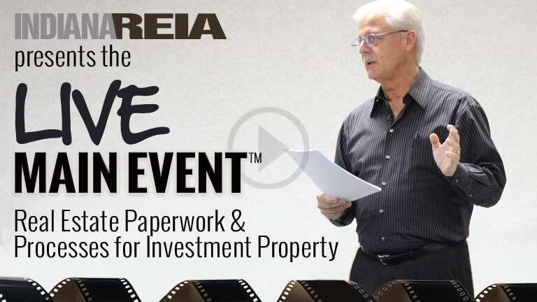 Training On Real Estate Paperwork and Processes for Buying Selling Indiana Investment Property